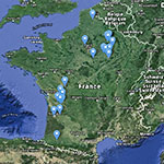 Carte des opérations